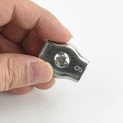 シングル ワイヤークリップ 6 SWC-6 水本 ステンレス金具
