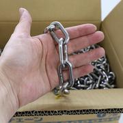 国産ステンレスチェーン 線径6mm 30m巻 SUS304