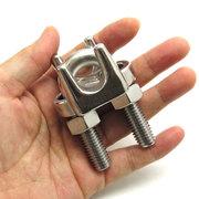 ワイヤークリップ ステンレス ロープ径 14mm用 WC-14