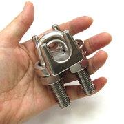 ワイヤークリップ ステンレス製 ロープ径 16mm用 WC-16