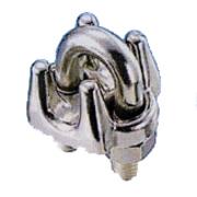 ワイヤークリップ ステンレス ロープ径 22mm用 WC-22