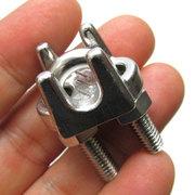 ステンレスワイヤークリップ ロープ径 6mm用 WC-6