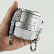 カムロック カプラー メネジ アルミ 1.5インチ トヨックス 633-DB 1 1/2 AL